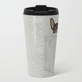 Pocket Chihuahua - Black Travel Mug