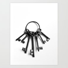 Keys to Another Time Art Print