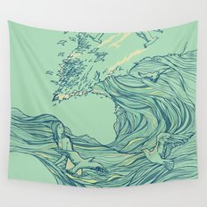 Ocean Breath Wall Tapestry