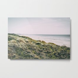 Dune and Touquet Beach Metal Print