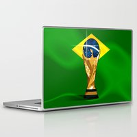 brazil Laptop & iPad Skins featuring Brazil 2014 by The Vector Studio