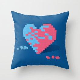 Love Wall Throw Pillow