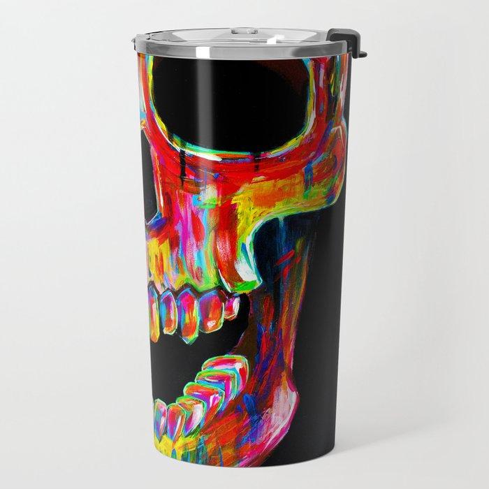 Chromatic Skull Travel Mug