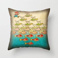 Lost Level Throw Pillow