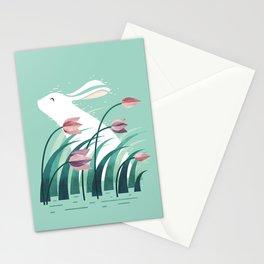 Rabbit, Resting Stationery Cards