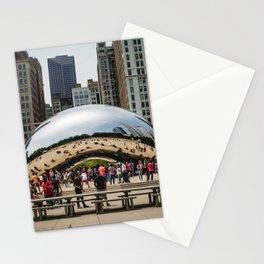 USA Photography - Chicago Millennium Park Stationery Cards