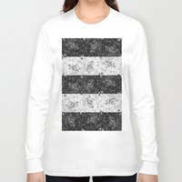 bubbles Long Sleeve T-shirts featuring Bubbles by Ana Montaño