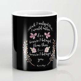Betrayed, The Lunar Chronicles  Coffee Mug