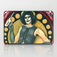 rocky horror picture show iPad Cases featuring Frank-N-Furter - Rocky Horror Picture Show by DanaRobinson
