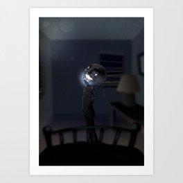l'Uomo Nero Art Print