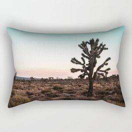 Red Horizon Chill Rectangular Pillow