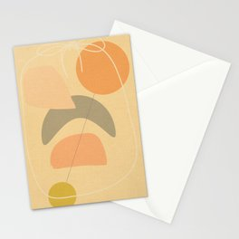 Abstract no problem Stationery Cards