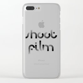 Shoot Film Clear iPhone Case
