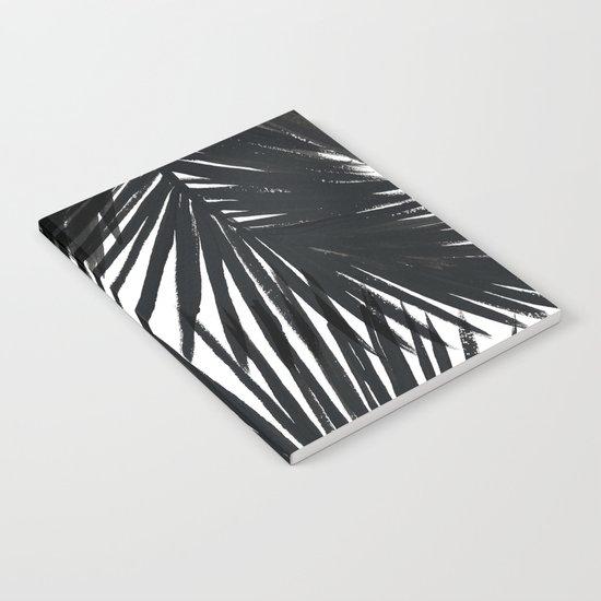 Palms Black Notebook
