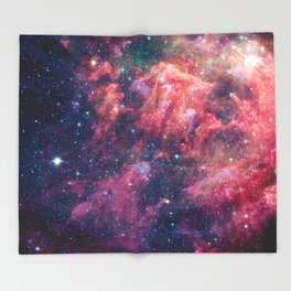 Space Nebula Throw Blanket