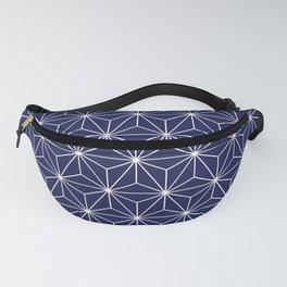 Geometric Stars Fanny Pack