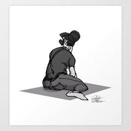 SKETCH 02 Art Print