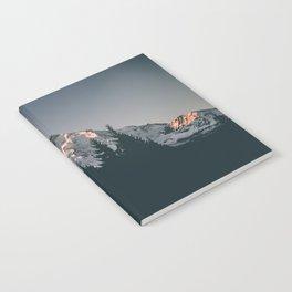 First Light on Mount Hood Notebook