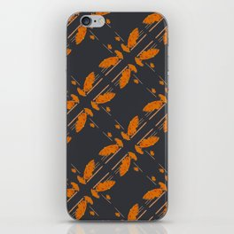 Orange chamomiles iPhone Skin