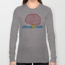 Brain Storm Long Sleeve T-shirt