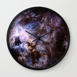 The Tarantula Nebula Wall Clock
