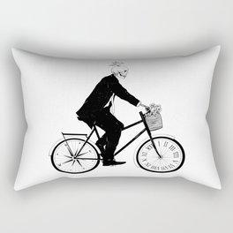 Better Late than Never Rectangular Pillow