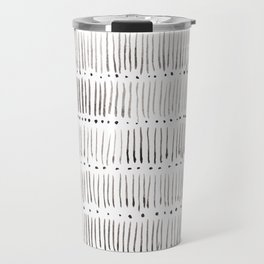 Lines and dots Travel Mug