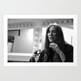 Patti Smith Expains Art Print