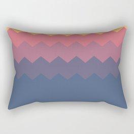 Flat Dusk palette Rectangular Pillow