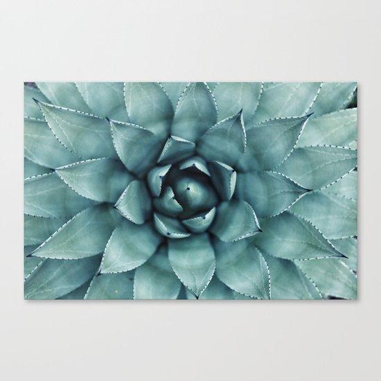 Flower geometric 4 Canvas Print