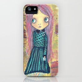 School Daze - Creepy Cutie Claudia iPhone Case