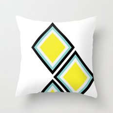 Bee in the Sky Throw Pillow