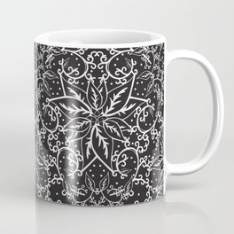 B&W decorative pattern Coffee Mug
