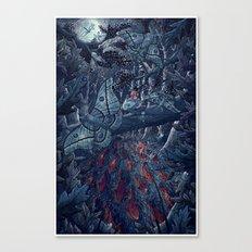 Kvothe's Legend Canvas Print