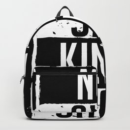 Not Slim Kinda Shady Chubby Gym Design Backpack
