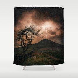 Thors Hammer Shower Curtain