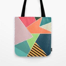 color segments 001 Tote Bag