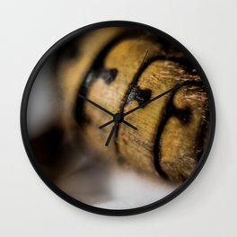 Back end of the bee Wall Clock
