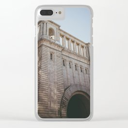 Brooklyn Building Clear iPhone Case