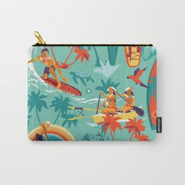 Hawaiian resort Carry-All Pouch