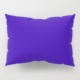 So dark Blue Pillow Sham