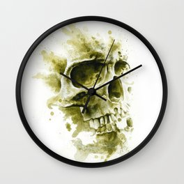 Sandy Skull Wall Clock