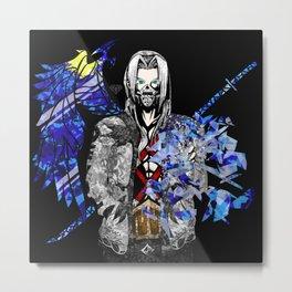 The Lost Fragment - Villain Metal Print