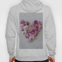 Heart of Ranunculus Hoody