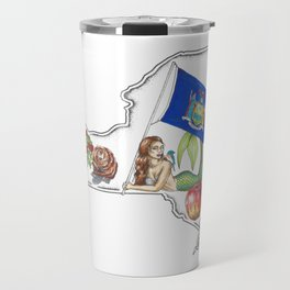 New York Mermaid Travel Mug