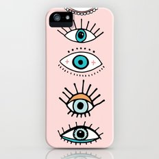 eye illustration print Slim Case iPhone (5, 5s)