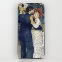 Dance in the Country by Pierre-Auguste Renoir iPhone Skin