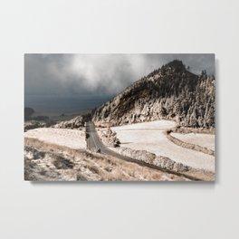 Tranquil landscape Metal Print