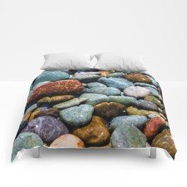 Pebble beach 3 Comforters