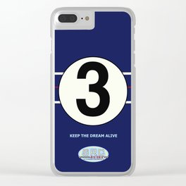 SRC Preparations. Racecar Rebels. 3 Clear iPhone Case